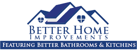 Better Home Improvements – Featuring Better Bathrooms & Kitchens Logo